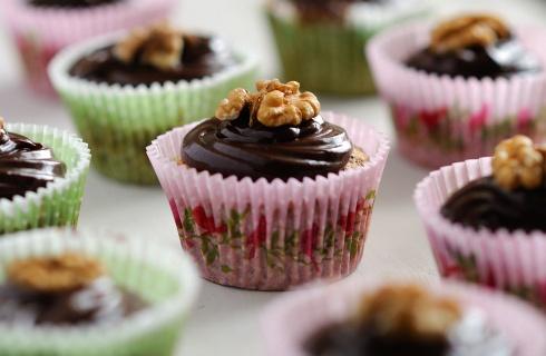 Walnuss-Schoko-Cupcakes